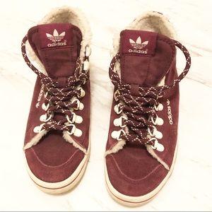 adidas Shoes - adidas | Women's Honey Hook Maroon/Chalk Sneakers